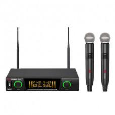 Volta US-2 Микрофонная радиосистема с 2-мя ручными  динамическими микрофонами