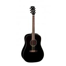 EARTH100-BK Earth Series Акустическая гитара, черная, Cort
