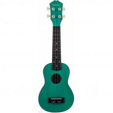 DAVINCI VINS-10EM - укулеле сопрано, изумрудный, пластик